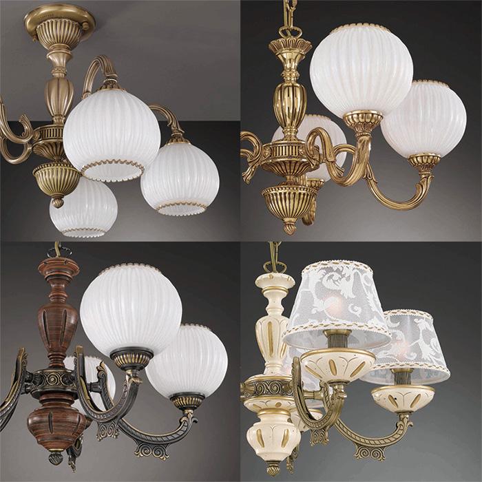 Новый каталог светильников Reccagni Angelo
